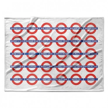 London Underground Station Roundels