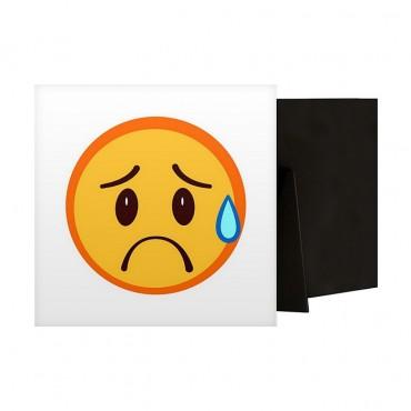 Distressed Emoji
