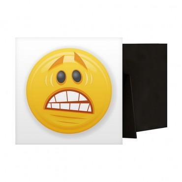 Scared Emoji With Big Teeth