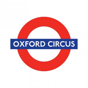 London Underground Oxford Circus Station Roundel