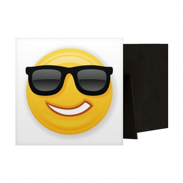 Cool Emoji With Black Sunglasses