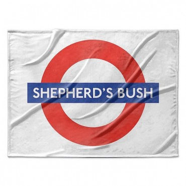 London Underground Shepherd s Bush Station Roundel