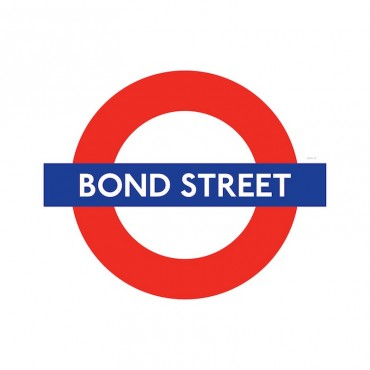 London Underground Bond Street Station Roundel