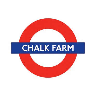 London Underground Chalk Farm Station Roundel