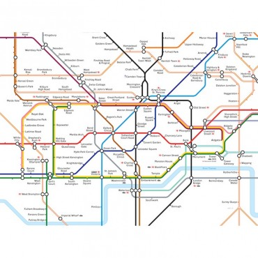 London Underground Station Map