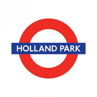 London Underground Holland Park Station Roundel