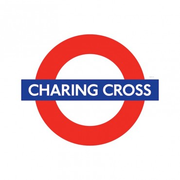 London Underground Charing Cross Station Roundel