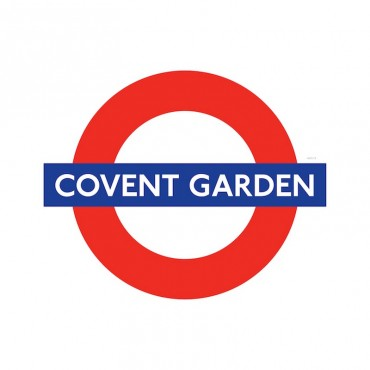 London Underground Covent Garden Station Roundel