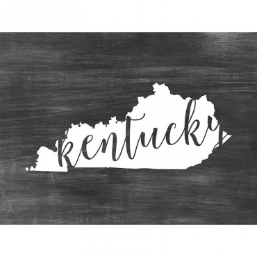 Home State Typography Kentucky
