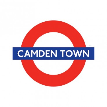 London Underground Camden Town Station Roundel