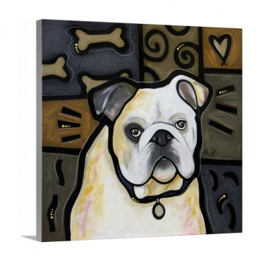 Bulldog Pop Art
