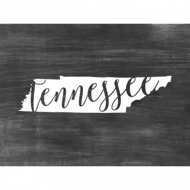 Home State Typography Tennessee