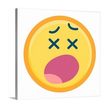 Exhausted Emoji