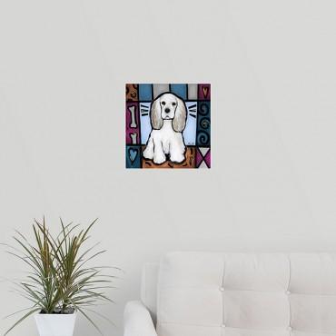 Cocker Spaniel Pop Art