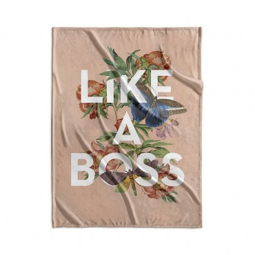 Like A Boss Vintage Floral Collage