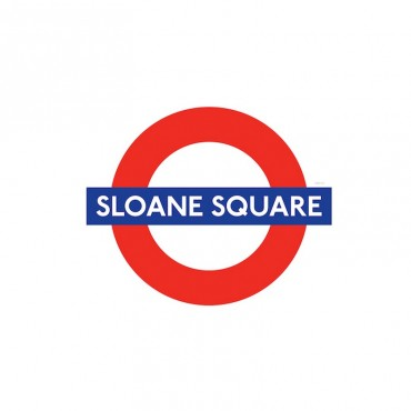 London Underground Sloane Square Station Roundel