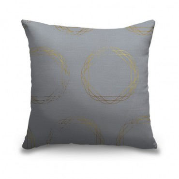 Weaving Gold Circles