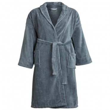 Terry Velour Shawl Robe