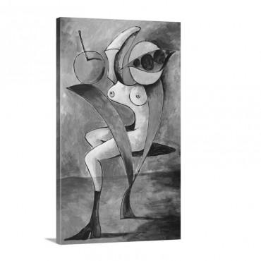 V For Venus Wall Art - Canvas - Gallery Wrap