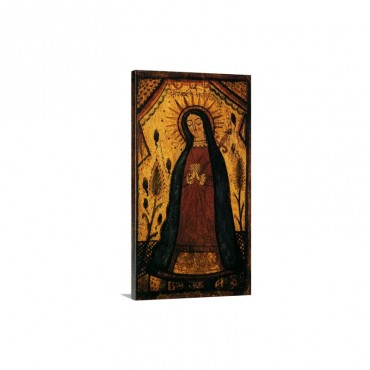 Virgin Mary Praying Wall Art - Canvas - Gallery Wrap