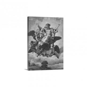 Vision Of Ezekiel C 1518 Wall Art - Canvas - Gallery Wrap