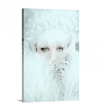 White Dreamer Wall Art - Canvas - Gallery Wrap