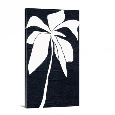 White Flower Wall Art - Canvas - Gallery Wrap