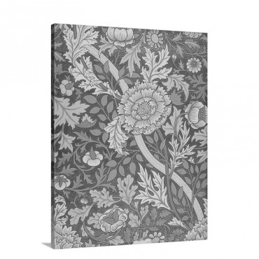 William Morris Design Wall Art - Canvas - Gallery Wrap