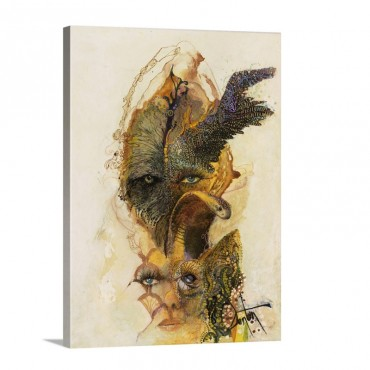 Wings And Things Wall Art - Canvas - Gallery Wrap