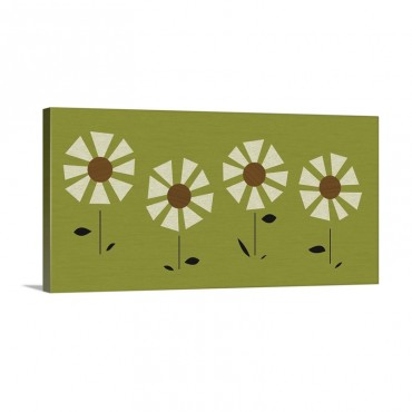 Witco Daisies Wall Art - Canvas - Gallery Wrap