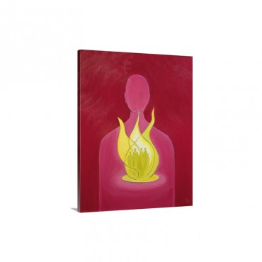 With God's Love We Can Help Pray For Those We Carry In Our Hearts 2000 Wall Art - Canvas - Gallery Wrap
