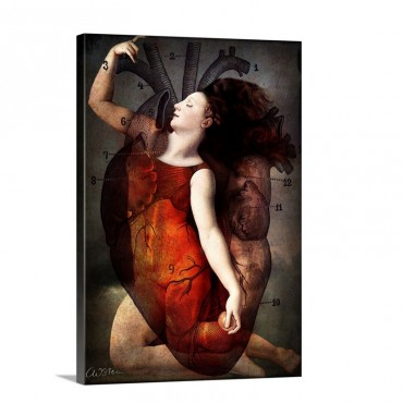 With All My Heart Wall Art - Canvas - Gallery Wrap