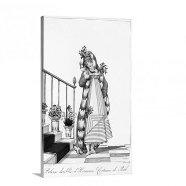 Women's Fashion C 1814 Wall Art - Canvas - Gallery Wrap