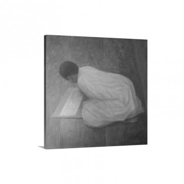 Young Monk In Class Wall Art - Canvas - Gallery Wrap