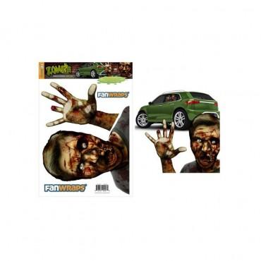Zombie Window Buddies Gory Gary Car Window Decal