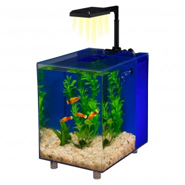 Blue   Prism Nano Aquarium Kit
