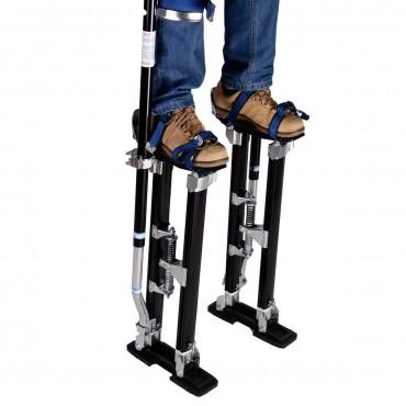 24 In. - 40 In. Drywall Stilts Aluminum Tool Stilt For Painting Painter Taping