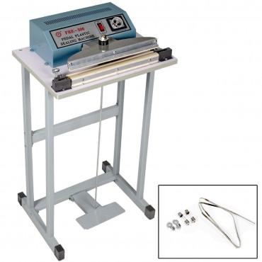 110V 12 In. Foot Pedal Impulse Sealer Heat Seal Machine