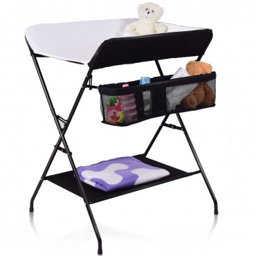 Baby Storage Folding Diaper Changing Table