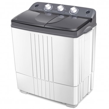 Twin-Tub Portable Mini Washing Machine