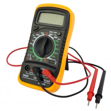 Digital Voltmeter Ammeter Ohmmeter Multimeter Volt AC DC Tester Meter ABS Plus PVC