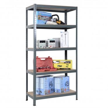 Adjustable 5 Tiers Steel Metal Storage Shelves