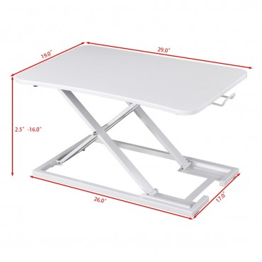 Height Adjustable Modern Lap Desk