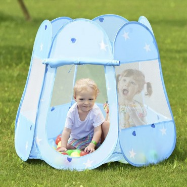 Kids Princess Play Tent Playhouse W / 100 Ocean Balls