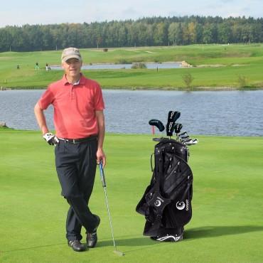 Hyper - Lite 6 Way Divider Golf Stand Cart Bag With Shoulder Strap
