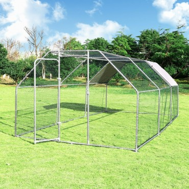 9.5 In. x 19 In. Large Walk In Chicken Coop