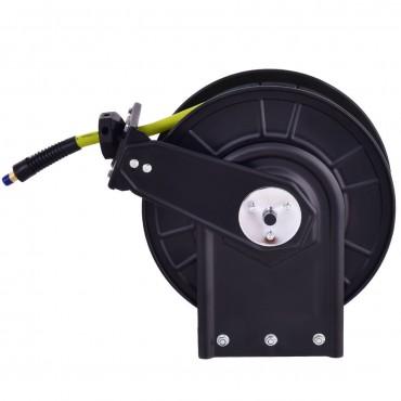 3/8 In. x 50 Ft. Retractable Air Compressor Hose Reel