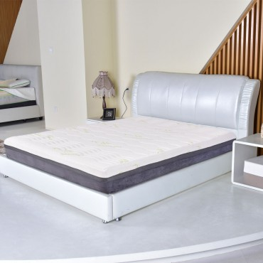 Five Size 10 In. Memory Foam Bamboo Fiber Mattress