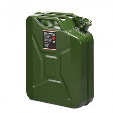 5 Gallon Steel Gas 20 L Jerry Fuel Can