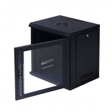 9 U Wall Mount IT Network Server Data Cabinet W / Glass Door